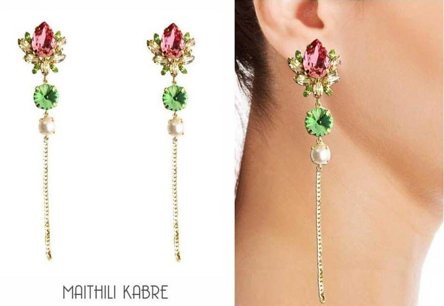 Lotus-Stem-Earrings