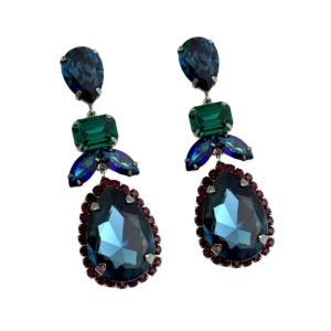 Midnight Drop Earrings