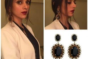 Aditi in Statement Earrings