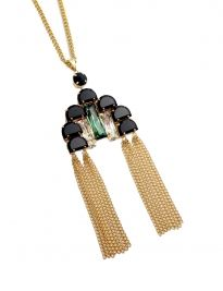 Black Art Deco Pendant