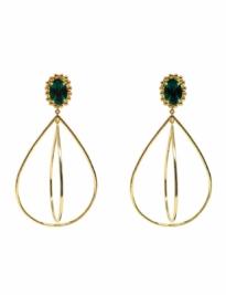 Twirling Drop Earrings