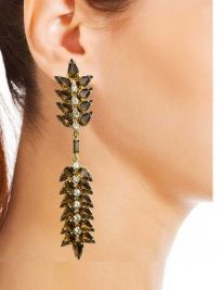 Swinging Leaf Earrings